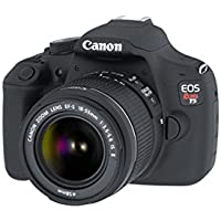 Canon EOS Rebel T5 18MP DSLR Camera & EF-S 18-55mm IS II 3 Lens Bundle includes Camera, Lenses, Flash, Tripod, Bag, 8GB + 16GB SDHC Memory Cards, Filter Kit, Cleaning Kit, Beach Camera Cloth and More Basic Intro Review Image