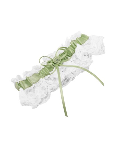 Weddingstar Bridal Toss Garter, Lime Juice