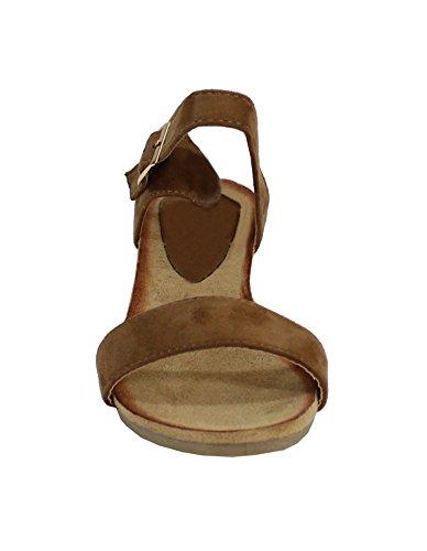 By Shoes - Sandalias para Mujer Camel