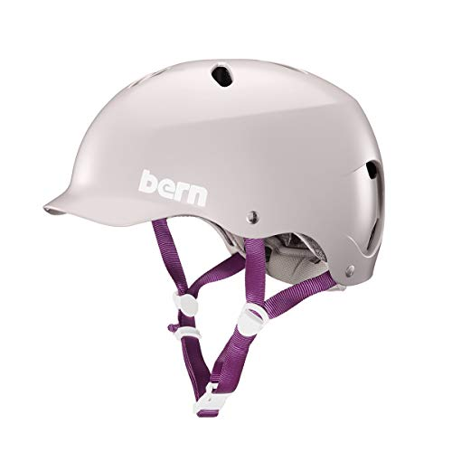 BERN - Summer Lenox EPS. Helmet, Satin Purple Haze, Medium ()