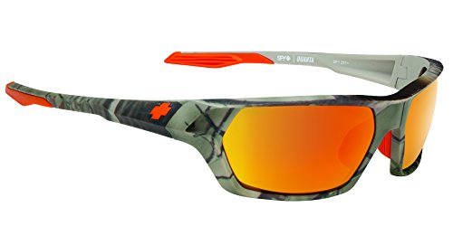Spy Optic Quanta Wrap Sunglasses, 64 mm (Ansi RX/Spy + Real - Spy Sunglasses Scoop