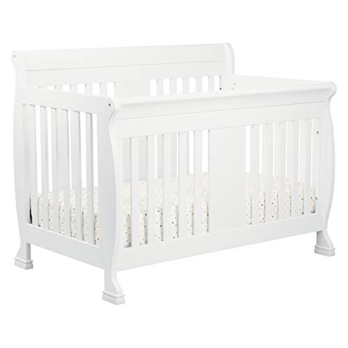 DaVinci Porter 4-in-1 Convertible Crib with Toddler Bed Conversion Kit, -