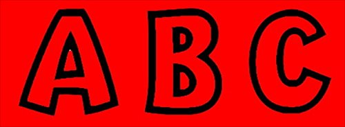 Uppercase And Lowercase Playful Decorative Letter44; 4 In. - Red - Trend Enterprises 080047