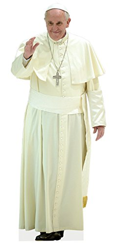 Aahs Engraving Pope Francis Life size Cutout Standee -