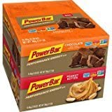 PowerBar Performance The Original Energy Bar- Variety Pack, 24ct Chocolate & Peanut Butter Bars