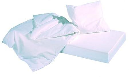 ADL allergosan alérgicos - Juego de funda nórdica antiácaros para alérgicos al polvo, microfibra, Weiß, Kofferset 6: Amazon.es: Hogar