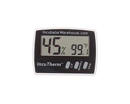 IncuTherm Digital Thermometer Hygrometer