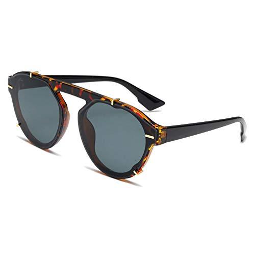 Sunglasses For Women Luxury Brand Designer Vintage Round Glasses Shades Retro Sun glasses Female Fashion ()