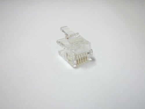 [해외]스카이 니 6 극 6 코어 모듈 플러그 100 개입 MP-6C / Skyney 6-pin 6-core Modular plug 100 pcs MP-6C