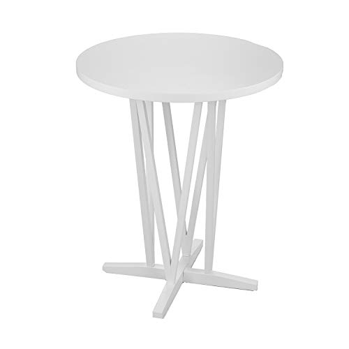 Awesome Amazon Com Devon White Bar Height Table Kitchen Dining Pabps2019 Chair Design Images Pabps2019Com