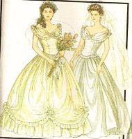 - Style 1501 Misses Southern Belle Bridal Wedding Gown & Bridesmaid Dress Sewing Pattern