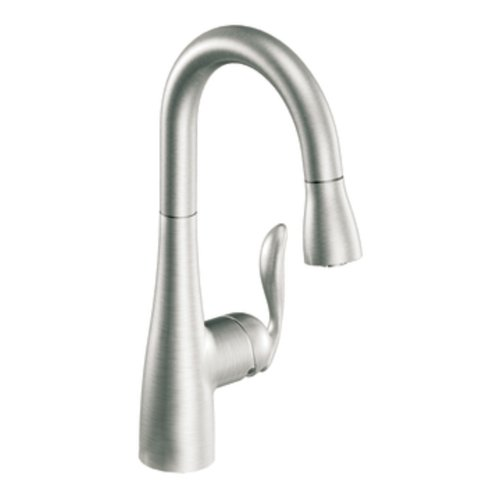 Why Choose Moen 5995CSL Arbor One-Handle High Arc Pulldown Bar Faucet Featuring Reflex, Classic Stai...