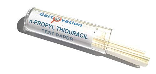 (N-Propylthiouracil Test Paper for Genetic Taste Testing, 100 Strips - Bartovation (Tm))