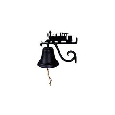 (Montague Metal Products Cast Bell with Black Train)