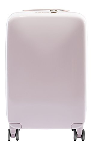[Raden A22 Carry-on Luggage, Light Pink Gloss] (Dimensions 1 Light Track)