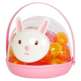 Easter Bunny Rabbit With 34 Plastic Fillable Eggs (Lexi Bunny)