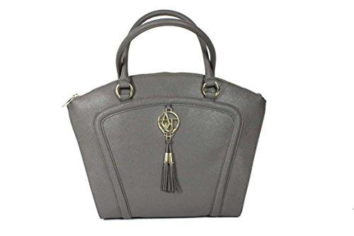 Armani Jeans 0522H Women's Handbag Tote Shopping Bag Grey