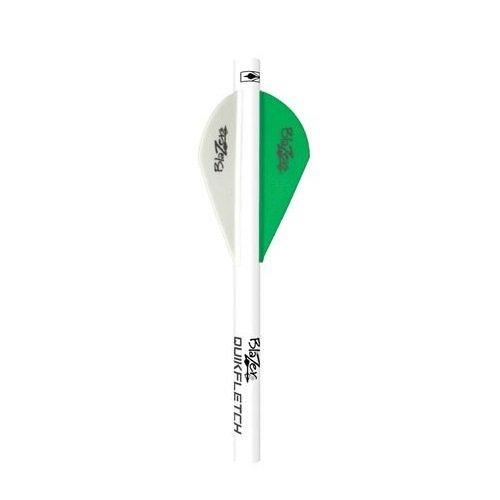 Bohning Blazer Quickfletch (6-Pack), Neon Green