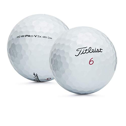 Titleist PROV1X 2016-VALUE AAA Grade-Recycled Used Golf BALLS-50 ()