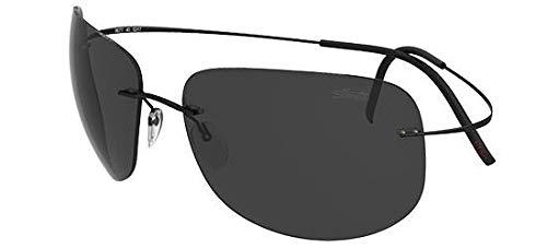 Silhouette Gafas de Sol TMA ULTRA THIN 8676 BLACK/DARK GREY ...