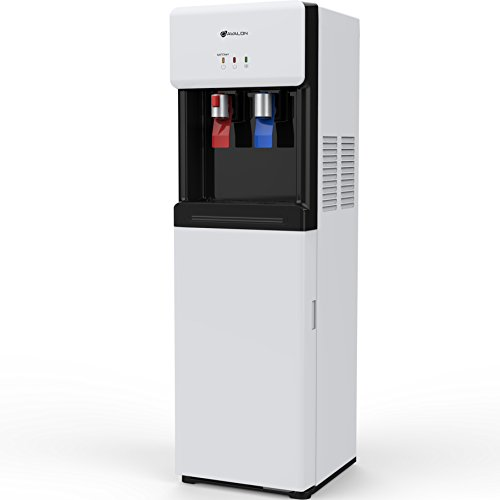 Avalon A6BLWTRCLRWHT Self Cleaning Bottom Loading Water Cooler Dispenser, White by Avalon