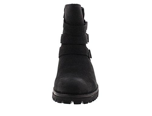 Blackstone Botas High Boot Buckle Fur OL14 Black