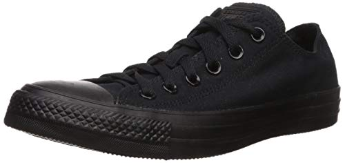 Converse Unisex Chuck Taylor All Star Low Top Black Monochrome Sneakers - 11.5 D(M) US