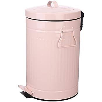 Amazon Com Bathroom Trash Can With Lid Pink Bathroom