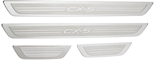 Genuine Mazda (0000-8T-R20) Door Sill Trim Plate by Genuine Mazda