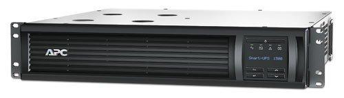 APC Smart-UPS RM SMT1500RM2U 1000W/1440VA 2U Rackmount LCD UPS System (Renewed) ()