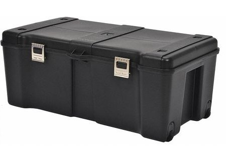 Rolling Tool Box, Storage - Plastic, Black
