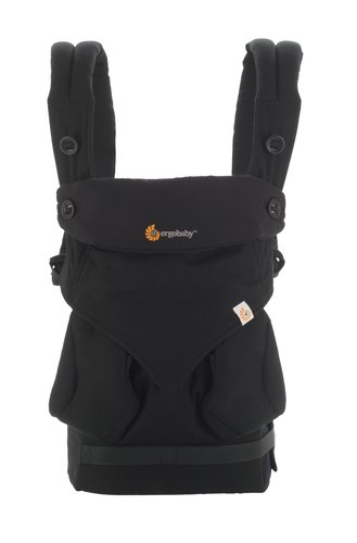 10eec4d1c96 Amazon.com   Ergobaby 360 All Carry Positions Award-Winning Ergonomic Baby  Carrier (Pure Black)   Baby