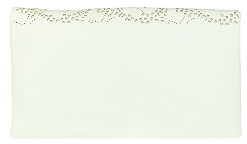 Clutch Laser HandBags Girly White Folded Cut Bag w0qxf4x