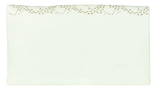 Bag Clutch Cut Girly White HandBags Cut Girly Folded Laser HandBags Laser Folded 6wWp4Znaq