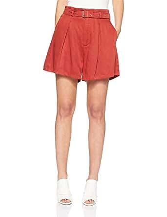 THIRD FORM Women's Sky High Short, Rust, Extra Small