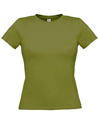 B&C - Camiseta - para mujer Musgo Verde