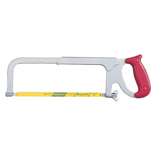 STARRETT Adjustable Hacksaw Frame - MODEL: K152 Blade: 8'', 10'' or 12'',200,250,300mm Throat Depth: 3-3/4'',95mm