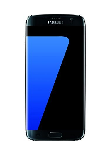 Samsung Galaxy S7 EDGE G935V 32GB, Verizon/GSM Unlocked, (Renewed) (Black)