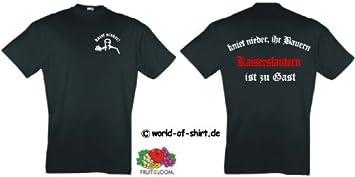LEVERKUSEN S-XL Fan-T-Shirt Ultras Kniet nieder