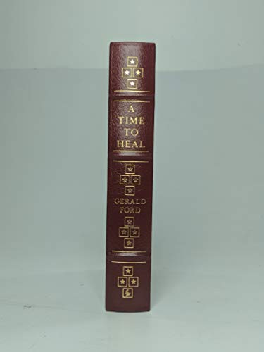 Books for Decor - A Time to Heal, By Gerald Ford - Signed Easton Press Collector's Edition 1979