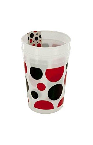 Kole Imports PB693 Little Ladybug Polka Dot Plastic Cups Set by Kole Imports