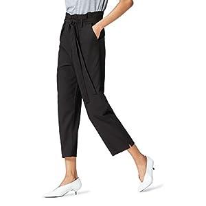 Amazon Brand - find. Women's High Waist Paperbag Pants 29