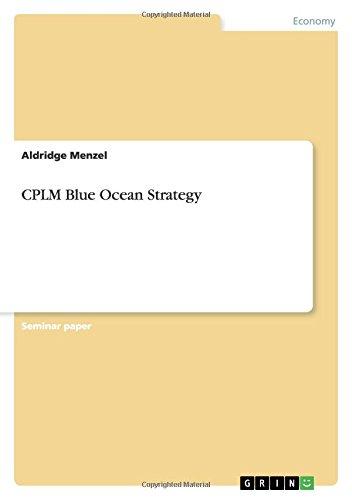 CPLM Blue Ocean Strategy pdf
