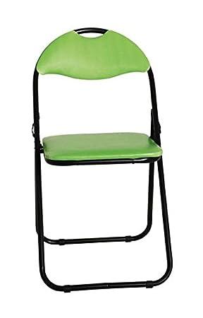 HAKU - Silla Plegable (6 Unidades, Asiento de PVC Verde ...