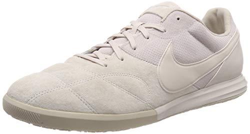 Shoes Futsal Best - Nike Men's Tiempo Premier II Sala IC Soccer Shoes (Desert Sand/White) (9)