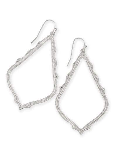 Kendra Scott Rhodium Metal Sophee Drop Earrings