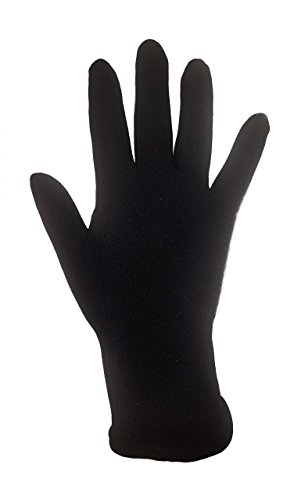 Figure Skating Gloves For Competition and Practice with Gel Wrist Protection (Small, (Figure Skating Gloves)