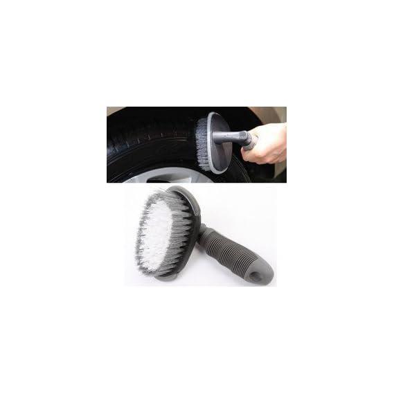Auto Hub Wheel Tire Rim Scrub Brush Hub Clean Wash Useful Brush Car Truck Motorcycle Bike Washing Cleaning Tool
