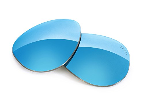 FUSE+ Glacier Mirror Polarized Lenses for Oakley Crosshair - Oakley Polarized 2.0 Replacement Lenses Crosshair