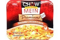 Chow Mein Instant Noodle (Teriyaki Chicken Flavor) - 4oz [Pack of 6] by Nissin